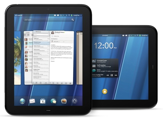 Планшет HP TouchPad