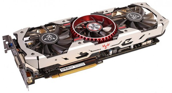 Colorful iGame GTX 1080 X-TOP-8G Advanced