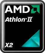 AMD, Athlon II X2 логотип