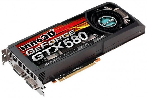 Видеокарта Inno3D GeForce GTX 580