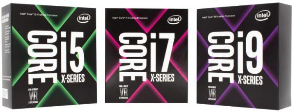 Intel Core i9-7920X, Core i9-7940X, Core i9-7960X, Core i9-7980XE Extreme Edition