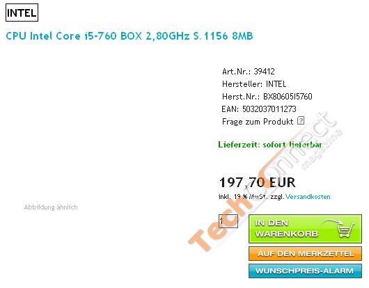 Intel Core i5-760