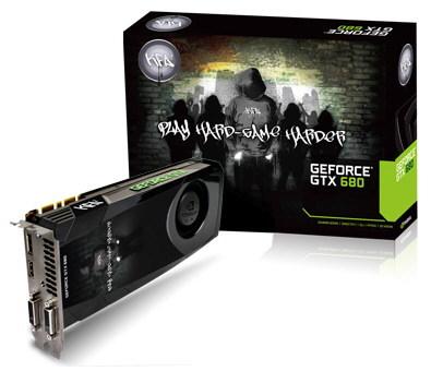 KFA2, GeForce, GTX 680