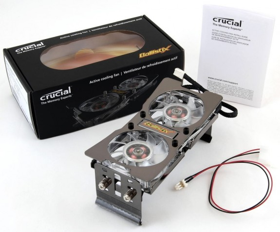 Система охлаждения Crucial Ballistix Active Cooling Fan