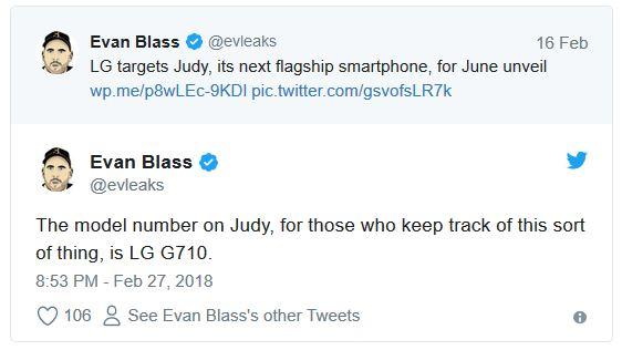 LG G710, Judy