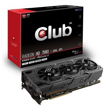 Видеокарта Club 3D Radeon HD 7990