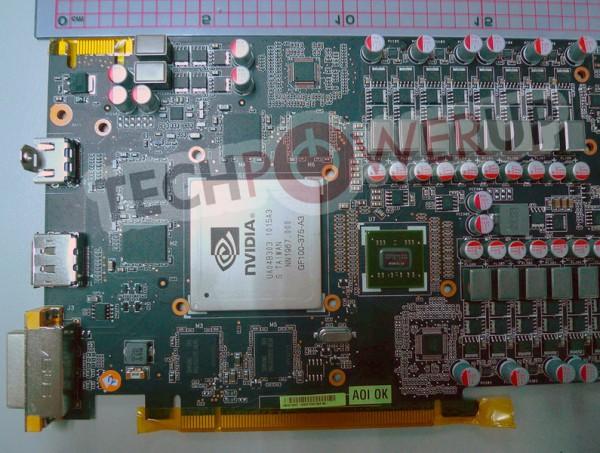 Двухпроцессорная видеокарта GTX 480 от ASUS