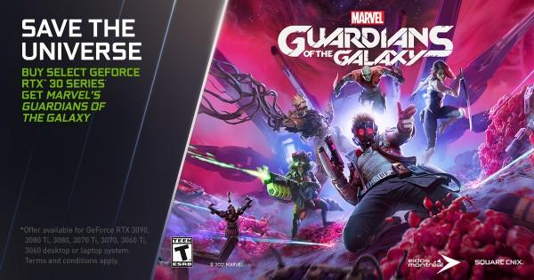 NVIDIA, GeForce RTX 3090, RTX 3080 Ti, RTX 3080, RTX 3070, RTX 3060, Guardians of the Galaxy