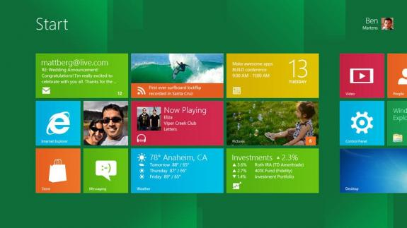 Microsoft Windows 8 Developer Preview