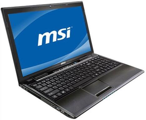 Ноутбук MSI CR650