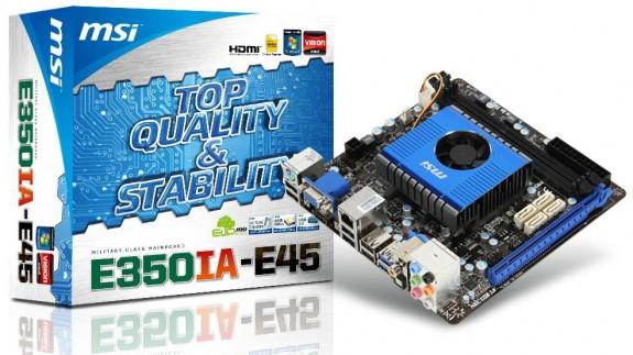 Материнская плата MSI E350IA-E45
