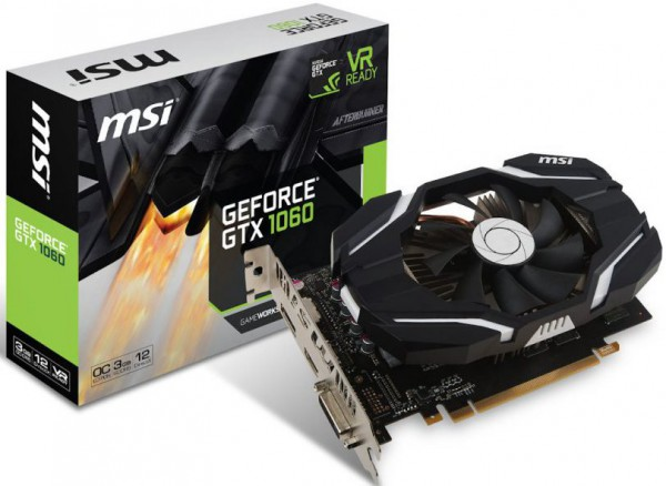 MSI GeForce GTX 1060 3G OCV1