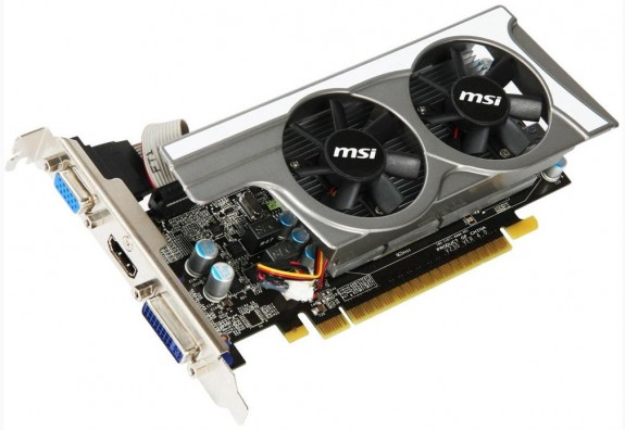 Видеокарта MSI N430GT-MD1GD3OCLP