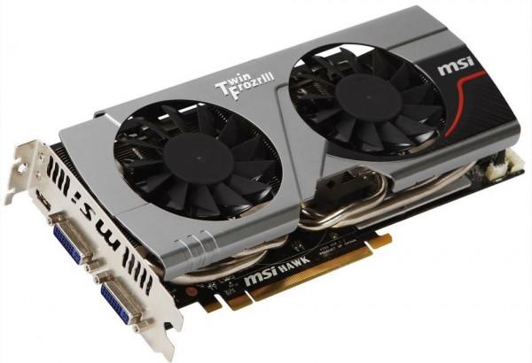 Видеокарта MSI N560GTX-Ti Hawk