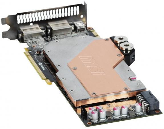 Видеокарта MSI N580GTX HydroGenOC