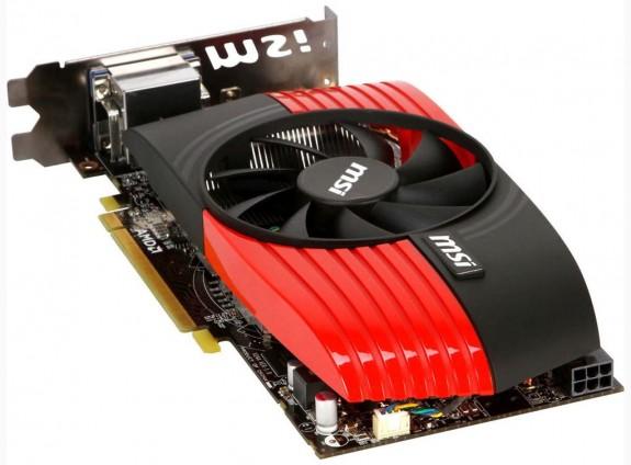 Видеокарта MSI Radeon HD 6850