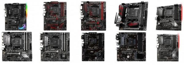 AMD B450, MSI
