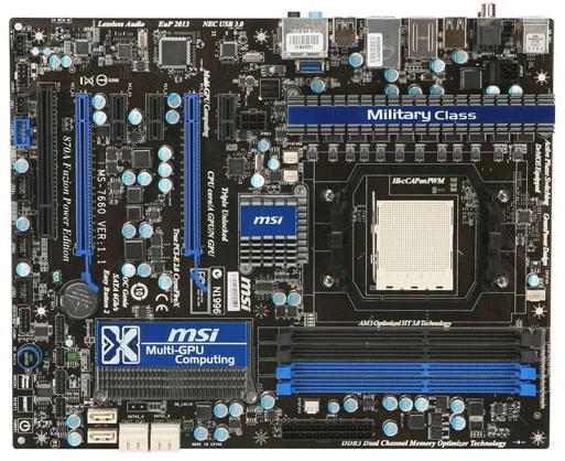 MSI 870A Fuzion