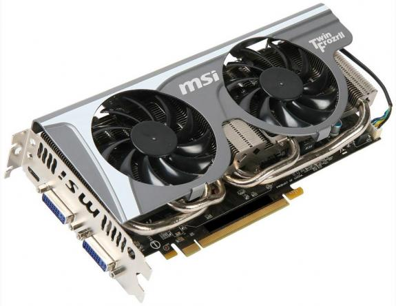 MSI GeForce GTX 560 Ti Twin Frozr II 2 ГБ