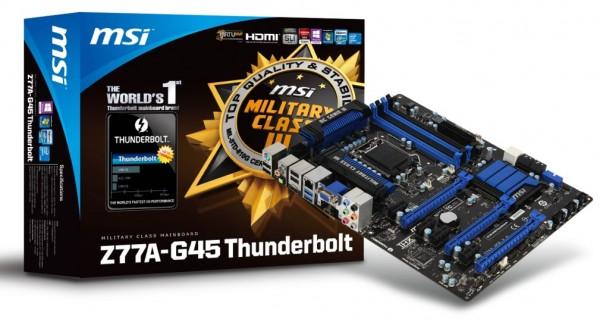 MSI Z77A-G45 Thunderbolt
