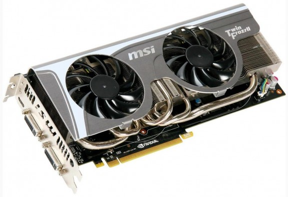 Видеокарта MSI N480GTX Twin Frozr II