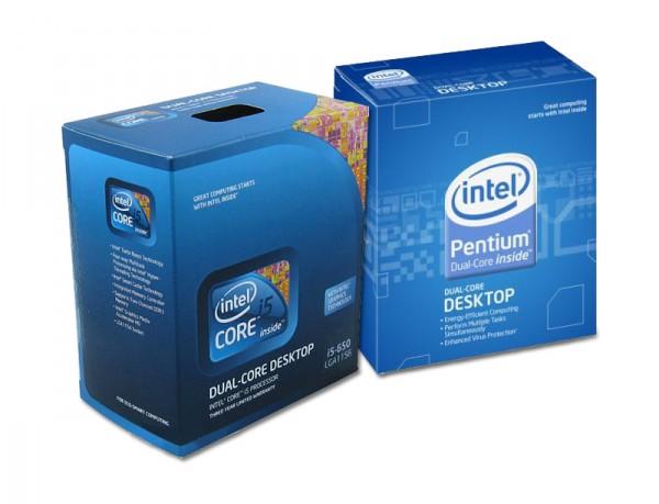 Pentium Dual-Core E5500, Core i5 680