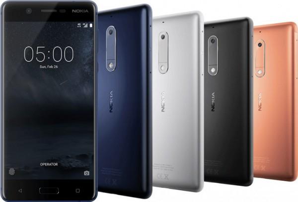 Nokia 6, Nokia 5, Nokia 3