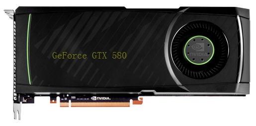 Видеокарта NVIDIA GeForce GTX 580