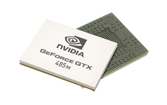 Видеочип NVIDIA GeForce GTX 485M