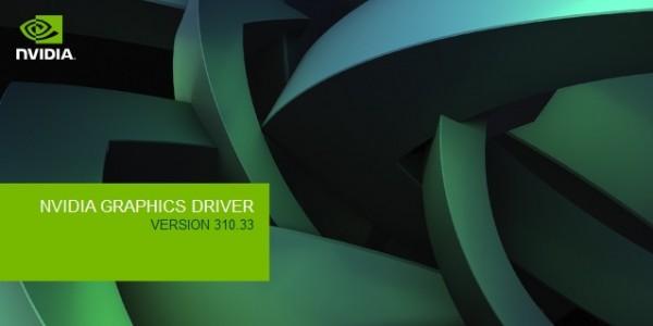 NVIDIA GeForce 310.33 Driver