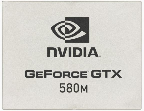 NVIDIA GeForce GTX 580M