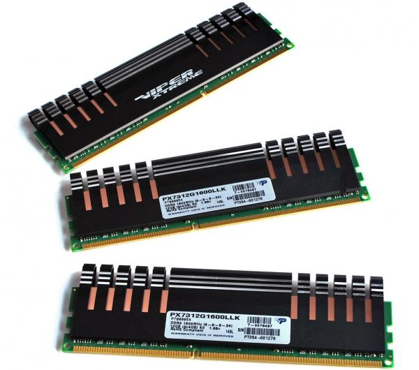 Память Patriot Memory Viper Xtreme DDR3-1600 12 ГБ