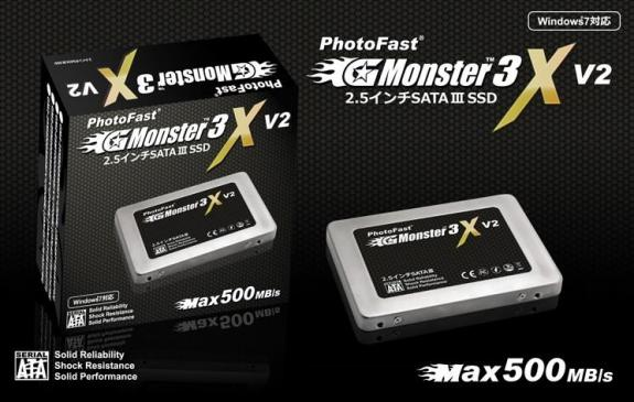 SSD-накопители PhotoFast GMonster3 XV2