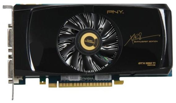 PNY GeForce GTX 550 Ti XLR8 OC