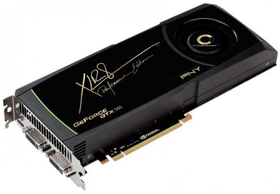 PNY GeForce GTX 580 XLR8 OC