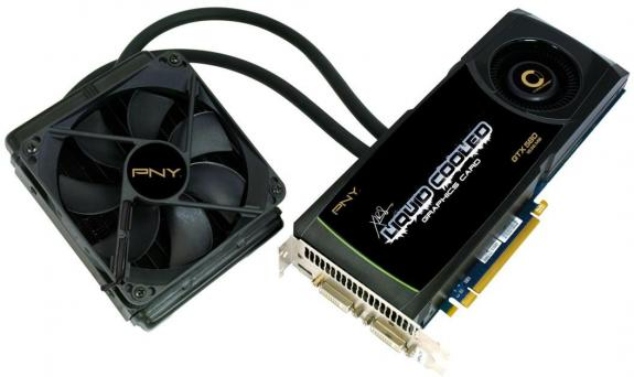 PNY XLR8 Liquid Cooled GTX 580