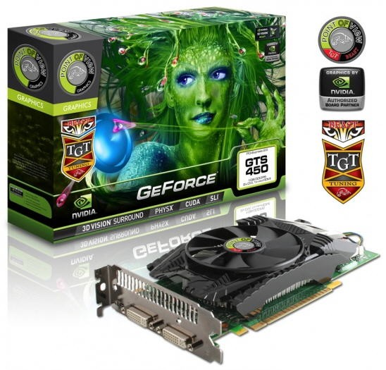Видеокарта Point of ViewTGT GeForce GTX 450 Beast Edition