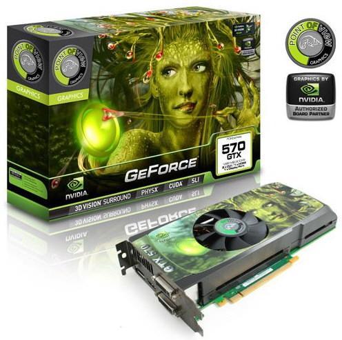 Point of View GeForce GTX 570 2560 МБ