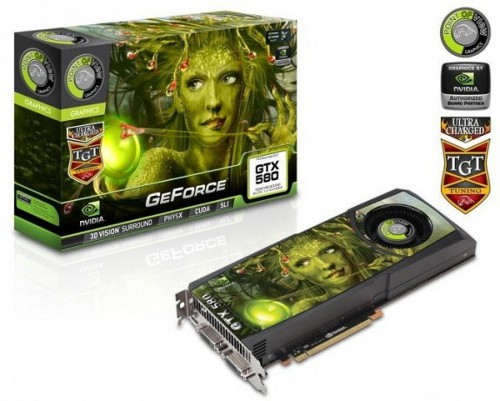 Видеокарта POVTGT GeForce GTX 580 3 ГБ Charged