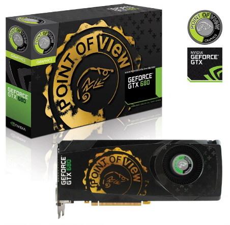 POV GeForce GTX 680