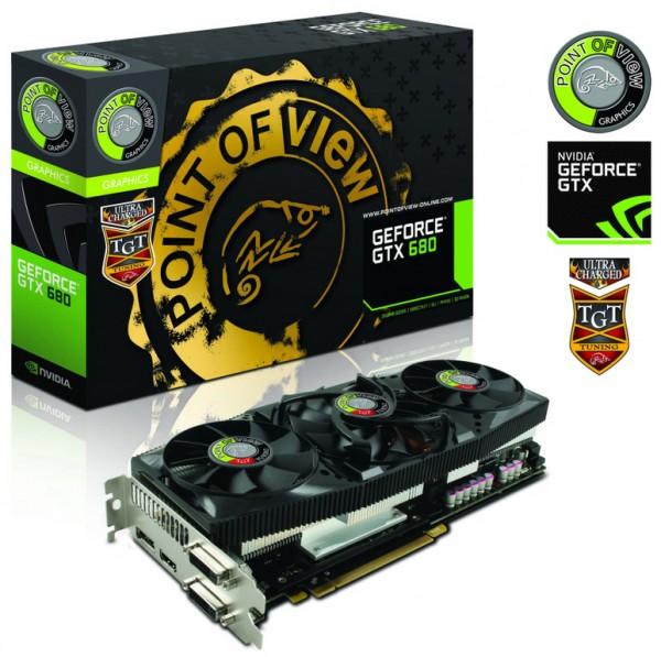 POVTGT GeForce GTX 680 UltraCharged