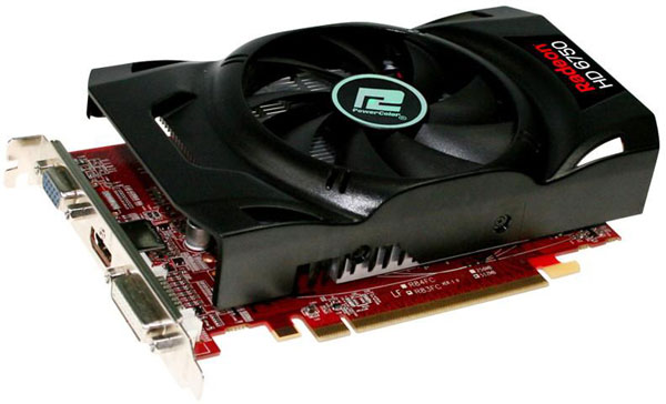 Видеокарта PowerColor Radeon HD 6750