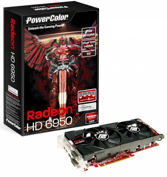 Видеокарта PowerColor HD 6950