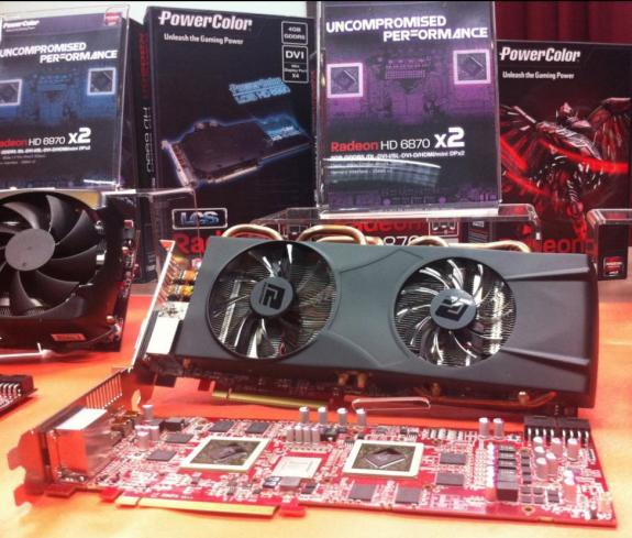 PowerColor Radeon HD 6870 X2