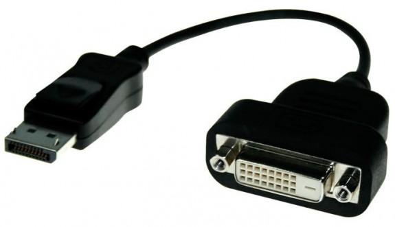 Переходник с DisplayPort на DVI от PowerColor