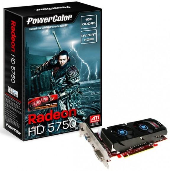 PowerColor Radeon HD 5750 Low Profile