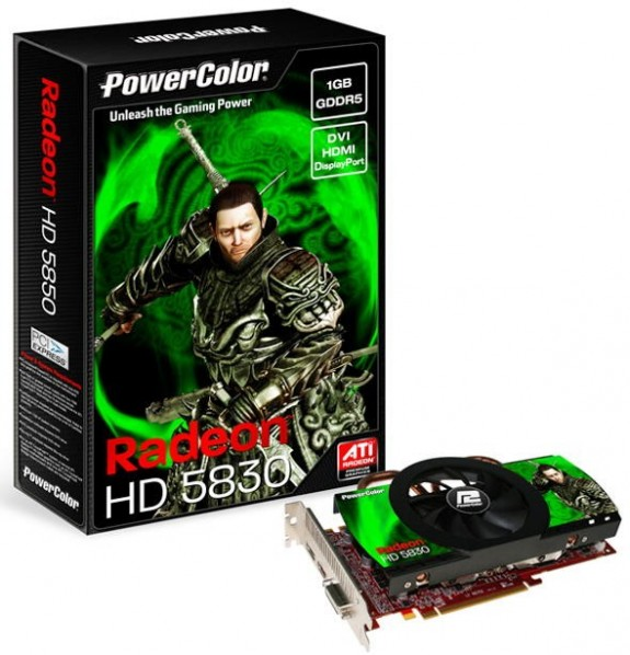 PowerColor Radeon HD 5830