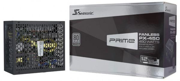SeaSonic Prime Fanless PX-450