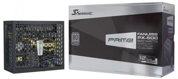 SeaSonic Prime Fanless PX-500