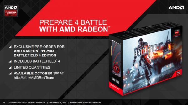 Radeon R9 290X, Battlefield 4